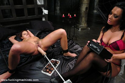 Photo number 5 from Sandra Romain machines Sara Faye shot for Fucking Machines on Kink.com. Featuring Sandra Romain and Sara Faye in hardcore BDSM & Fetish porn.