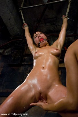 Photo number 12 from Lesbian Amateur gets dominated and fucked shot for Wired Pussy on Kink.com. Featuring Vai and Isis Love in hardcore BDSM & Fetish porn.