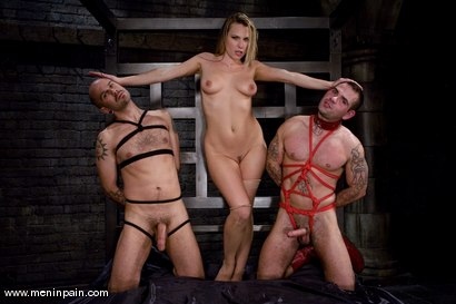 Photo number 1 from You're going to suck cock for MY pleasure. shot for Men In Pain on Kink.com. Featuring Harmony, Daac Ramsey and Jake Corwin in hardcore BDSM & Fetish porn.