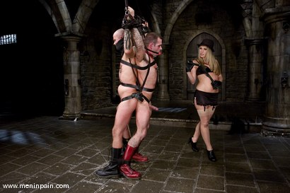 Photo number 2 from You're going to suck cock for MY pleasure. shot for Men In Pain on Kink.com. Featuring Harmony, Daac Ramsey and Jake Corwin in hardcore BDSM & Fetish porn.