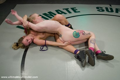 """Photo number 11 from Harmony Rose """"The Brawler"""" (0-6) <br>vs<br>Sarah Jane Ceylon """"Blondie"""" (0-5) shot for Ultimate Surrender on Kink.com. Featuring Harmony and Sarah Jane Ceylon in hardcore BDSM & Fetish porn."""