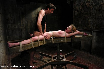 Photo number 13 from Shy Girl shot for Sex And Submission on Kink.com. Featuring Steve Holmes and Riley Shy in hardcore BDSM & Fetish porn.