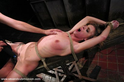 Photo number 12 from Shy Girl shot for Sex And Submission on Kink.com. Featuring Steve Holmes and Riley Shy in hardcore BDSM & Fetish porn.