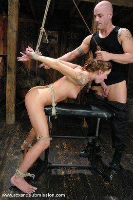 Photo number 6 from Other Side shot for Sex And Submission on Kink.com. Featuring Derrick Pierce and Chayse Evans in hardcore BDSM & Fetish porn.