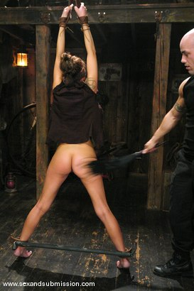 Photo number 5 from Other Side shot for Sex And Submission on Kink.com. Featuring Derrick Pierce and Chayse Evans in hardcore BDSM & Fetish porn.