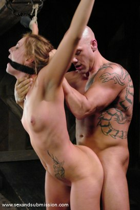 Photo number 10 from Other Side shot for Sex And Submission on Kink.com. Featuring Derrick Pierce and Chayse Evans in hardcore BDSM & Fetish porn.
