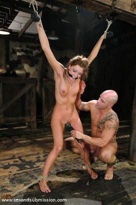 Photo number 9 from Other Side shot for Sex And Submission on Kink.com. Featuring Derrick Pierce and Chayse Evans in hardcore BDSM & Fetish porn.