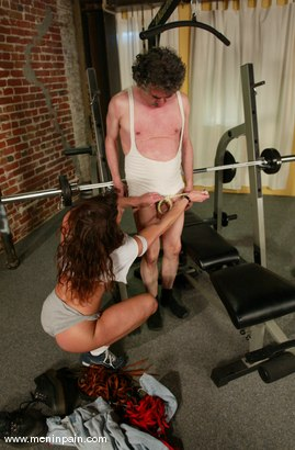 Photo number 7 from Kym Wilde and Jamie Gillis shot for Men In Pain on Kink.com. Featuring Jamie Gillis and Kym Wilde in hardcore BDSM & Fetish porn.