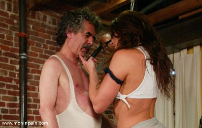 Photo number 15 from Kym Wilde and Jamie Gillis shot for Men In Pain on Kink.com. Featuring Jamie Gillis and Kym Wilde in hardcore BDSM & Fetish porn.