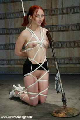 Photo number 2 from Claire Adams Does Sabrina Sparks! shot for Water Bondage on Kink.com. Featuring Sabrina Sparx in hardcore BDSM & Fetish porn.