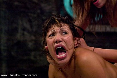 "Photo number 15 from Amber Rayne ""Rogue"" (1-2) <br>vs<br>Ava Devine ""The Barracuda"" (0-0) shot for Ultimate Surrender on Kink.com. Featuring Ava Devine and Amber Rayne in hardcore BDSM & Fetish porn."
