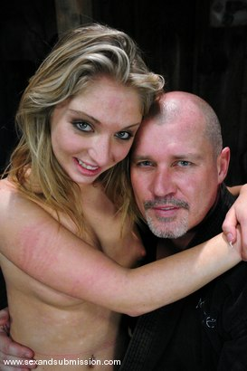 Photo number 15 from Little Giver shot for Sex And Submission on Kink.com. Featuring Mark Davis and Jaelyn Fox in hardcore BDSM & Fetish porn.