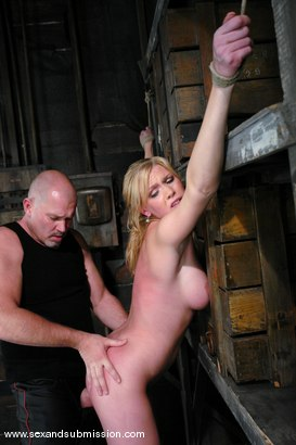 Photo number 7 from Voluptuous Vonn shot for Sex And Submission on Kink.com. Featuring Mark Davis and Victoria Vonn in hardcore BDSM & Fetish porn.