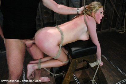 Photo number 10 from Voluptuous Vonn shot for Sex And Submission on Kink.com. Featuring Mark Davis and Victoria Vonn in hardcore BDSM & Fetish porn.