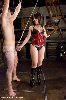 Photo number 6 from Interrogation shot for Men In Pain on Kink.com. Featuring Penny Flame and Devin in hardcore BDSM & Fetish porn.