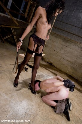 Photo number 6 from Mistress Soleli and Zoey shot for TS Seduction on Kink.com. Featuring Mistress Soleli and Zoey in hardcore BDSM & Fetish porn.