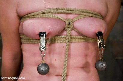 Photo number 8 from Andy San Dimas in her first of many Hogtied vistis.<br>Tickled, gagged, suspended, made to cum. shot for Hogtied on Kink.com. Featuring Andy San Dimas in hardcore BDSM & Fetish porn.