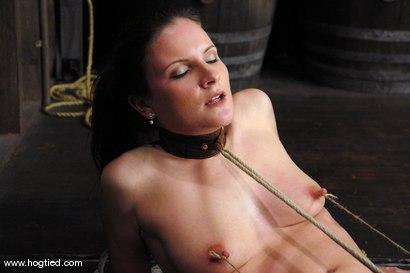 Photo number 7 from This 25 year old from Texas is a member of the site.  We love new and untouched amateur girls! shot for Hogtied on Kink.com. Featuring Lorelei Lane in hardcore BDSM & Fetish porn.