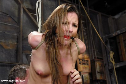 Photo number 2 from This 25 year old from Texas is a member of the site.<br> We love new and untouched amateur girls! shot for Hogtied on Kink.com. Featuring Lorelei Lane in hardcore BDSM & Fetish porn.