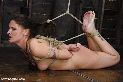 Photo number 12 from This 25 year old from Texas is a member of the site.<br> We love new and untouched amateur girls! shot for Hogtied on Kink.com. Featuring Lorelei Lane in hardcore BDSM & Fetish porn.