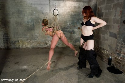 Photo number 13 from Kylie Wilde returns to Hogtied <br>It's 4 years later, and she's hotter than ever. shot for Hogtied on Kink.com. Featuring Kylie Wilde in hardcore BDSM & Fetish porn.