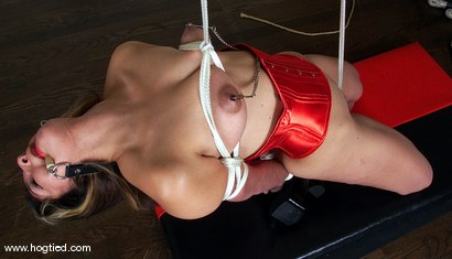 Photo number 15 from Passion shot for Hogtied on Kink.com. Featuring Passion in hardcore BDSM & Fetish porn.