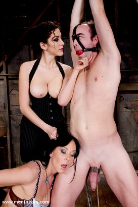 Photo number 1 from Pain and Pleasure shot for Men In Pain on Kink.com. Featuring Princess Donna Dolore, Julie Night and Max Tibbs in hardcore BDSM & Fetish porn.