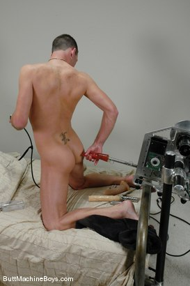 Photo number 10 from Machine Virgin, Jason Renyolds shot for Butt Machine Boys on Kink.com. Featuring Jason Renyolds in hardcore BDSM & Fetish porn.