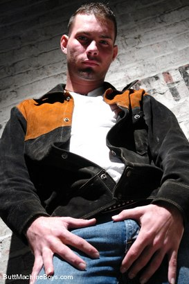 Photo number 4 from Machine Virgin, Jason Renyolds shot for buttmachineboys on Kink.com. Featuring Jason Renyolds in hardcore BDSM & Fetish porn.