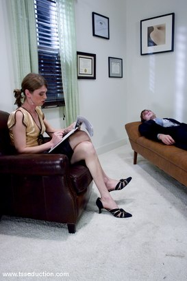 Photo number 2 from Mandy Mitchell and Johnny Rocket shot for TS Seduction on Kink.com. Featuring Mandy Mitchell and Johnny Rocket in hardcore BDSM & Fetish porn.