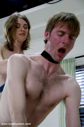Photo number 8 from Mandy Mitchell and Johnny Rocket shot for TS Seduction on Kink.com. Featuring Mandy Mitchell and Johnny Rocket in hardcore BDSM & Fetish porn.