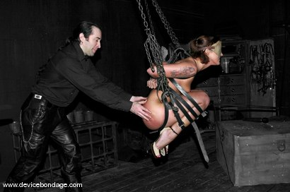 Photo number 14 from Cyd's Day Off shot for Device Bondage on Kink.com. Featuring Sara Faye and Damon Pierce in hardcore BDSM & Fetish porn.