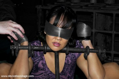 Photo number 3 from Whipping Post shot for Device Bondage on Kink.com. Featuring Jandi Lin in hardcore BDSM & Fetish porn.