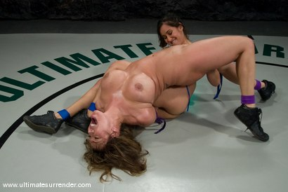"""Photo number 4 from Isis Love """"The Goddess"""" (16-7) <br>vs<br>Ava Devine """"The Barracuda"""" (0-1) shot for Ultimate Surrender on Kink.com. Featuring Isis Love and Ava Devine in hardcore BDSM & Fetish porn."""