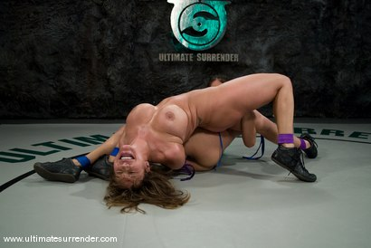 """Photo number 5 from Isis Love """"The Goddess"""" (16-7) <br>vs<br>Ava Devine """"The Barracuda"""" (0-1) shot for Ultimate Surrender on Kink.com. Featuring Isis Love and Ava Devine in hardcore BDSM & Fetish porn."""