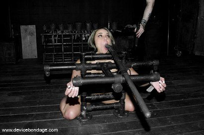Photo number 13 from A Bondage Whore shot for devicebondage on Kink.com. Featuring Delilah Strong in hardcore BDSM & Fetish porn.