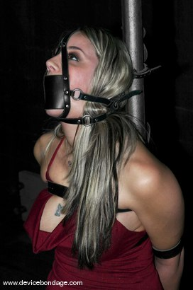 Photo number 2 from A Bondage Whore shot for devicebondage on Kink.com. Featuring Delilah Strong in hardcore BDSM & Fetish porn.