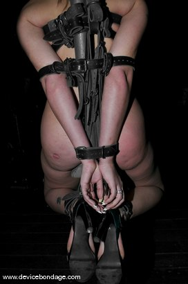 Photo number 3 from A Bondage Whore shot for devicebondage on Kink.com. Featuring Delilah Strong in hardcore BDSM & Fetish porn.