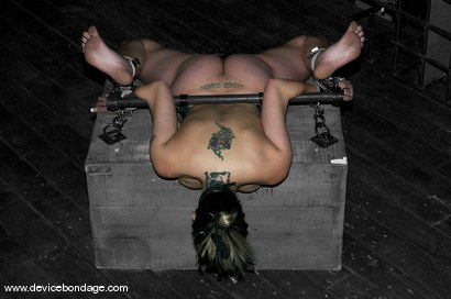 Photo number 6 from A Bondage Whore shot for devicebondage on Kink.com. Featuring Delilah Strong in hardcore BDSM & Fetish porn.
