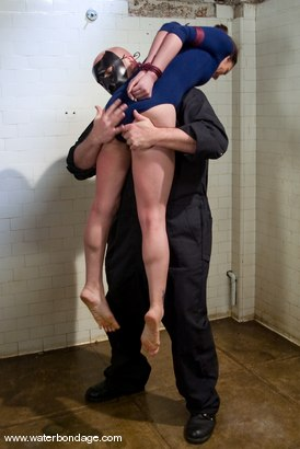 Photo number 1 from Amber Rayne And The Sarge shot for Water Bondage on Kink.com. Featuring Sgt. Major and Amber Rayne in hardcore BDSM & Fetish porn.