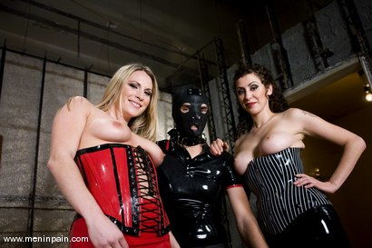Photo number 15 from The Princess and the Maiden shot for Men In Pain on Kink.com. Featuring Harmony, Princess Donna Dolore and Lefty in hardcore BDSM & Fetish porn.