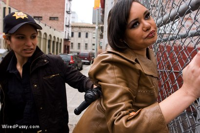 Photo number 2 from Street Girls shot for Wired Pussy on Kink.com. Featuring Annie Cruz, Isis Love and Amber Rayne in hardcore BDSM & Fetish porn.