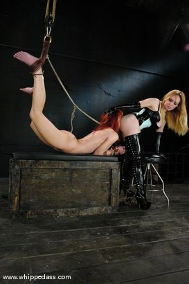 Photo number 5 from AnnaBelle Lee shot for Whipped Ass on Kink.com. Featuring AnnaBelle Lee and Aiden Starr in hardcore BDSM & Fetish porn.