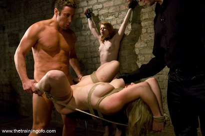 Photo number 12 from The Training of Number Seven, Day Four shot for The Training Of O on Kink.com. Featuring Adrianna Nicole, Jack Lawrence and Madison Young in hardcore BDSM & Fetish porn.