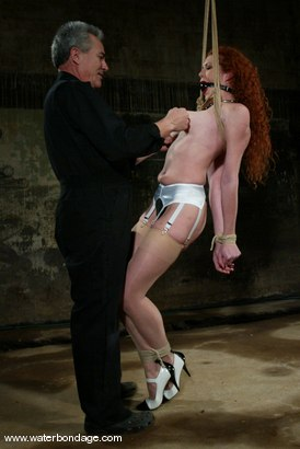 Photo number 2 from Sabrina Fox Returns! shot for Water Bondage on Kink.com. Featuring Sabrina Fox in hardcore BDSM & Fetish porn.