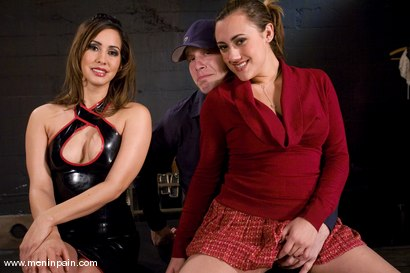 Photo number 15 from Training Billy shot for Men In Pain on Kink.com. Featuring Billy, Gwen Diamond and Isis Love in hardcore BDSM & Fetish porn.