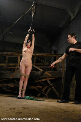 Photo number 5 from Tabatha Tucker shot for Sex And Submission on Kink.com. Featuring Steven St. Croix and Tabatha Tucker in hardcore BDSM & Fetish porn.
