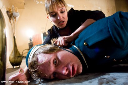 Photo number 3 from Room 69 shot for Men In Pain on Kink.com. Featuring Ryan Knox and Lexi Love in hardcore BDSM & Fetish porn.