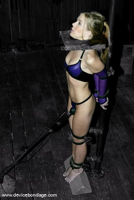 Photo number 9 from Research shot for Device Bondage on Kink.com. Featuring Tabitha James in hardcore BDSM & Fetish porn.
