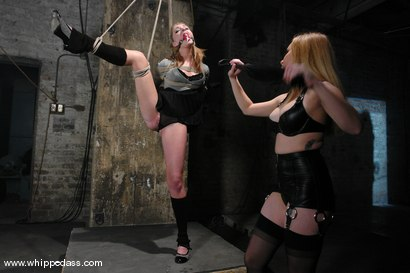 Photo number 2 from Jaelyn Fox shot for Whipped Ass on Kink.com. Featuring Aiden Starr and Jaelyn Fox in hardcore BDSM & Fetish porn.